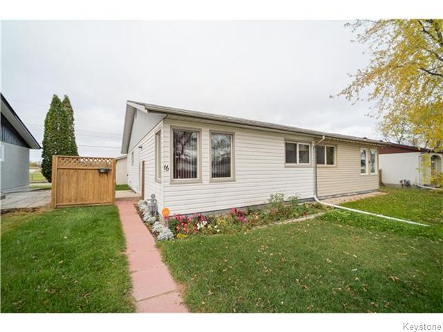 Main Photo: 16 Allenby Crescent in Winnipeg: East Transcona Residential for sale (3M)  : MLS® # 1627394
