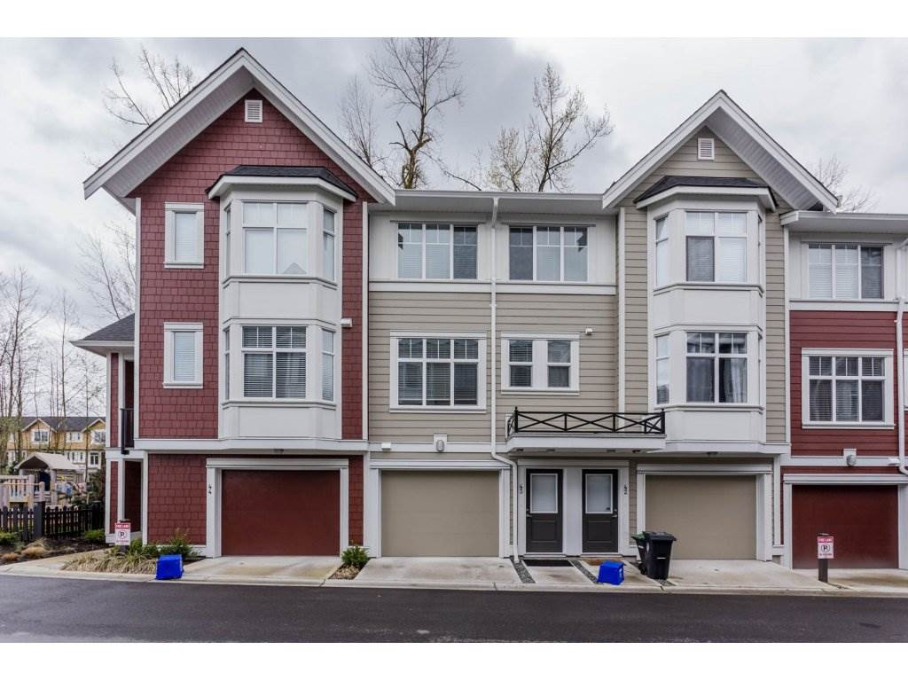 "Main Photo: 43 20852 77A Avenue in Langley: Willoughby Heights Townhouse for sale in ""ARCADIA"" : MLS® # R2156486"