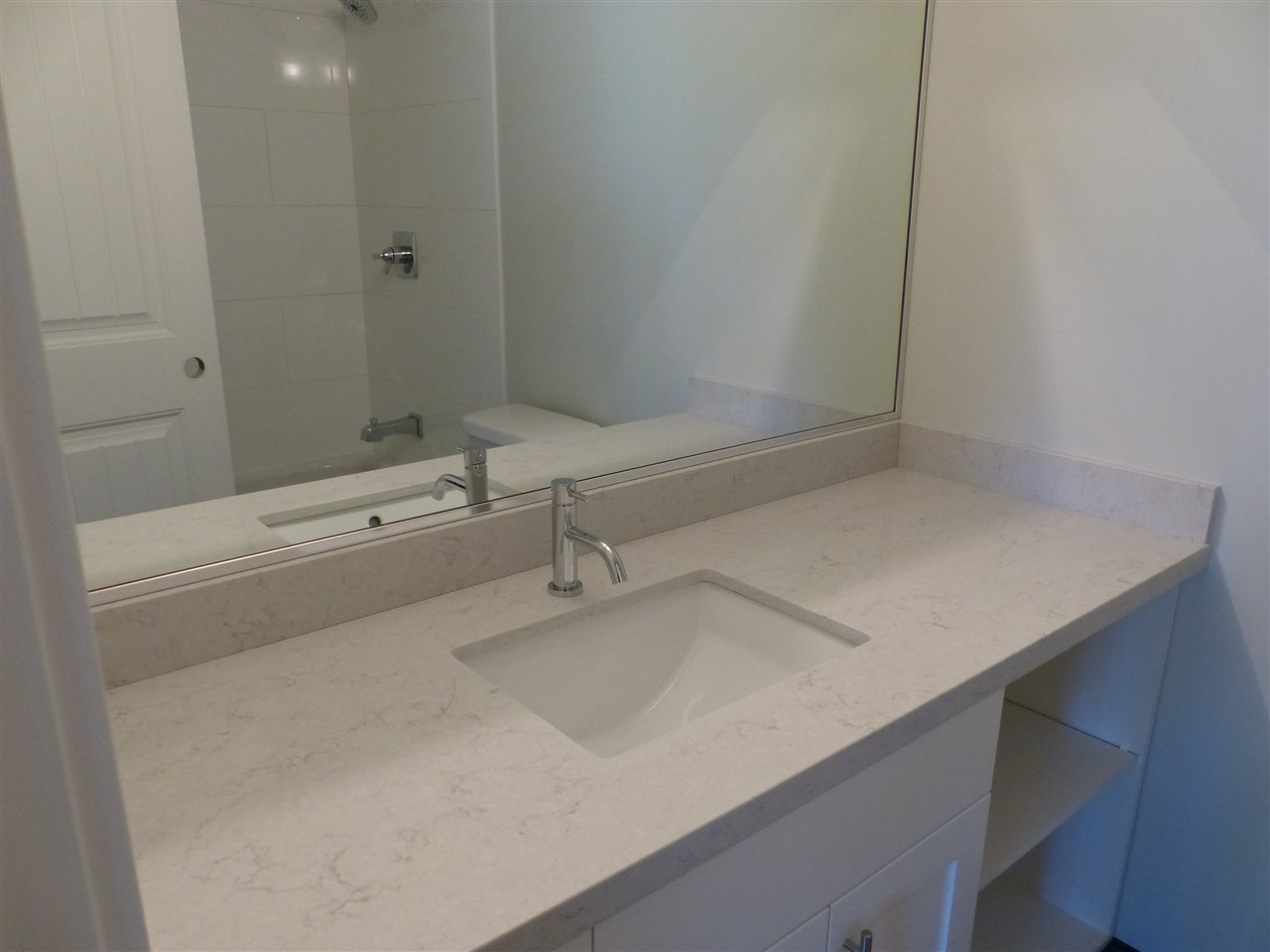 NEW Quartz Silestone Counter & Blanco Faucet