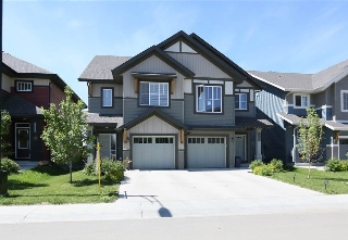 Main Photo: 5622 CRABAPPLE Way in Edmonton: Zone 53 House Half Duplex for sale : MLS® # E4070132