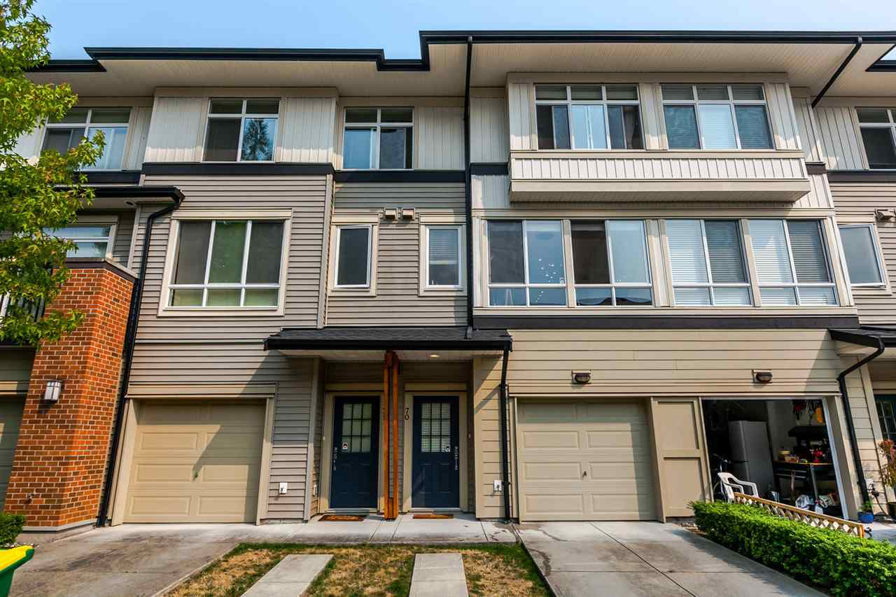 "Main Photo: 70 1125 KENSAL Place in Coquitlam: New Horizons Townhouse for sale in ""KENSAL WALK"" : MLS® # R2195403"