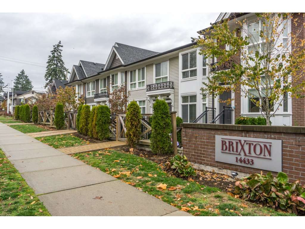 "Photo 1: Photos: 43 14433 60 Avenue in Surrey: Sullivan Station Townhouse for sale in ""BRIXTON"" : MLS® # R2221357"