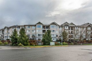 "Main Photo: 404 19673 MEADOW GARDENS Way in Pitt Meadows: North Meadows PI Condo for sale in ""THE FAIRWAYS"" : MLS® # R2238790"