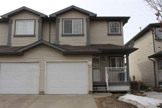 Main Photo: 2964 26 Street NW in Edmonton: Zone 30 House Half Duplex for sale : MLS®# E4104405