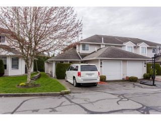 "Main Photo: 45 21928 48 Avenue in Langley: Murrayville Townhouse for sale in ""Murray Glen"" : MLS®# R2260357"