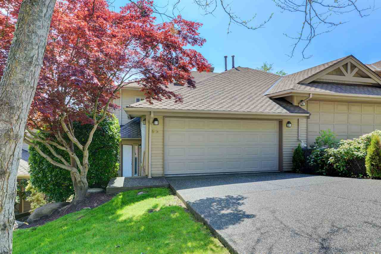 "Main Photo: 85 2979 PANORAMA Drive in Coquitlam: Westwood Plateau Townhouse for sale in ""DEERCREST"" : MLS®# R2266386"