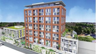 "Main Photo: 808 2689 KINGSWAY in Vancouver: Collingwood VE Condo for sale in ""SKYWAY TOWER"" (Vancouver East)  : MLS®# R2268899"