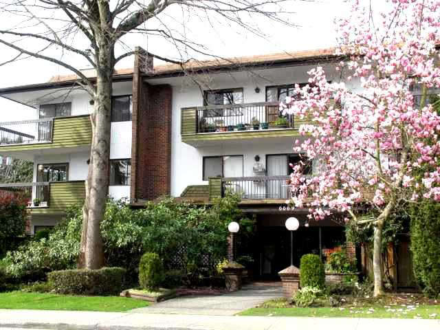 "Main Photo: 102 6669 TELFORD Avenue in Burnaby: Metrotown Condo for sale in ""THE FIRCREST"" (Burnaby South)  : MLS®# V872370"