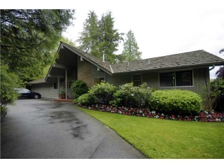 Main Photo: 86 STEVENS Drive in West Vancouver: British Properties House for sale : MLS®# V894330