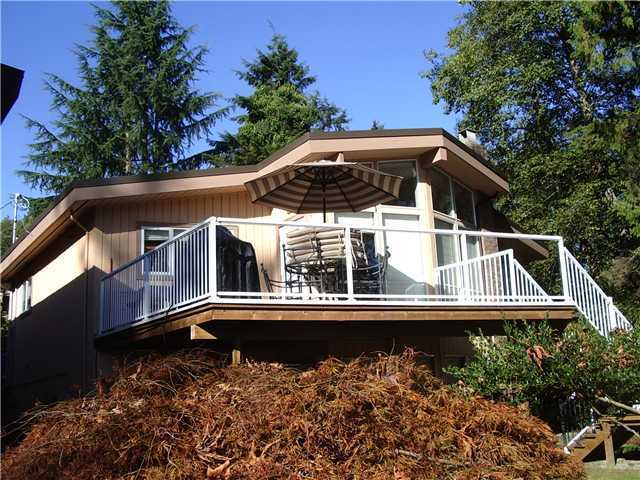 Main Photo: 1018 BANBURY Road in North Vancouver: Deep Cove House for sale : MLS® # V911800