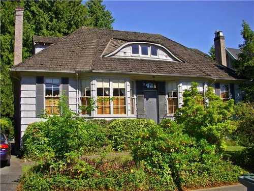Main Photo: 5762 WALLACE Street in Vancouver West: Southlands Home for sale ()  : MLS® # V898699