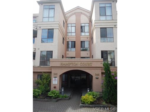 Main Photo: 109 545 Manchester Road in VICTORIA: Vi Burnside Condo Apartment for sale (Victoria)  : MLS® # 337904