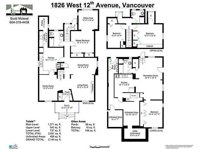 Photo 17: 1826 W 12TH Avenue in Vancouver: Kitsilano House for sale (Vancouver West)  : MLS® # V1106697