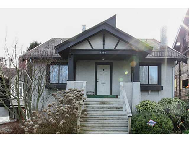 Main Photo: 1826 W 12TH Avenue in Vancouver: Kitsilano House for sale (Vancouver West)  : MLS® # V1106697