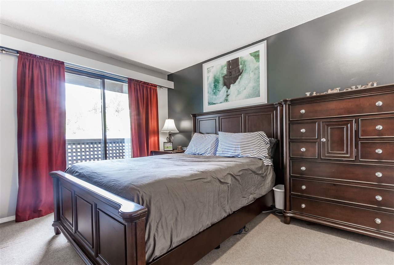 Large Master Bedroom with private balcony