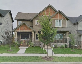 Main Photo: 169 HAWKS RIDGE Boulevard in Edmonton: Zone 59 House Half Duplex for sale : MLS(r) # E4053291
