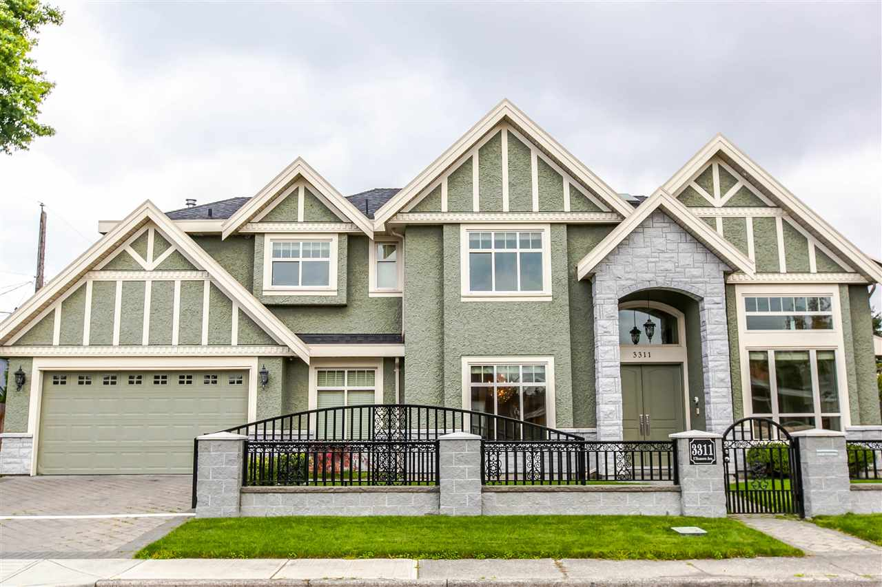 Main Photo: 3311 ULLSMORE Avenue in Richmond: Seafair House for sale : MLS® # R2156538