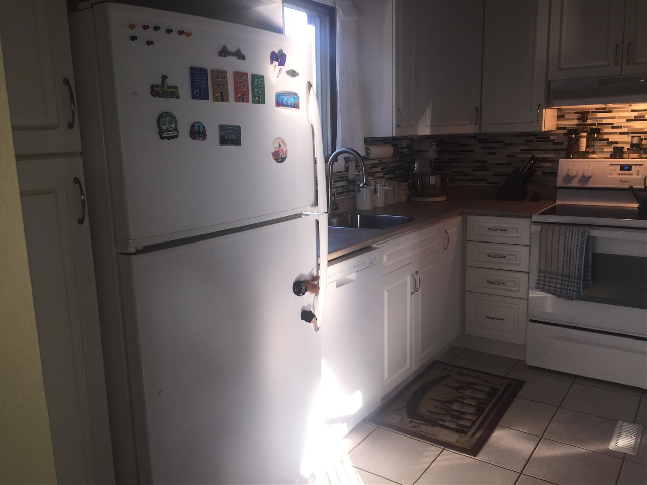 Pantry to left, Kitchen