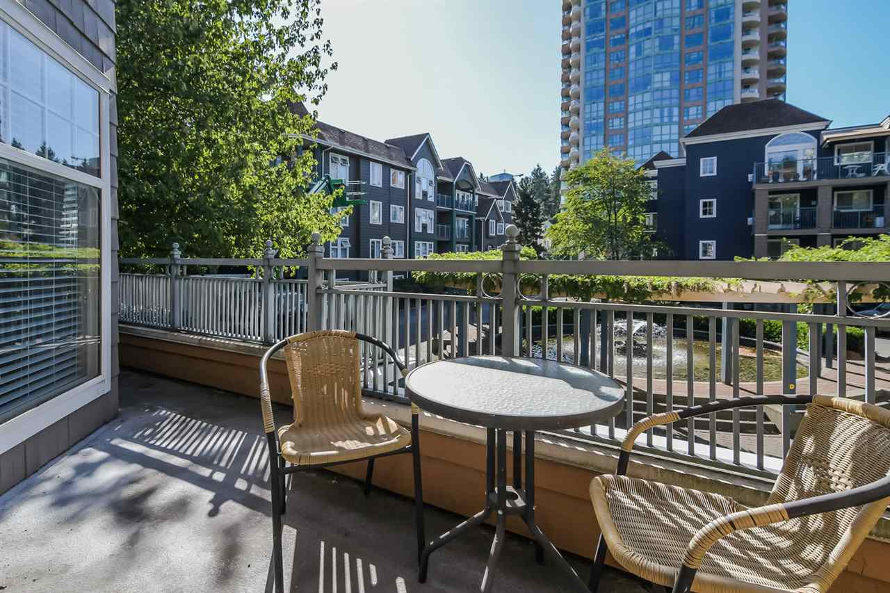 "Main Photo: 209 3075 PRIMROSE Lane in Coquitlam: North Coquitlam Condo for sale in ""Lakeview Terrace"" : MLS® # R2206677"