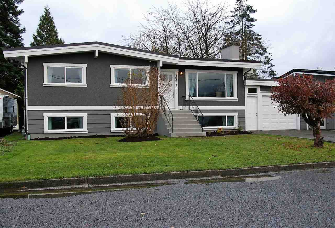 Main Photo: 46642 ANDREWS Avenue in Chilliwack: Chilliwack E Young-Yale House for sale : MLS® # R2221862