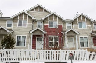 Main Photo: 37 5604 199 Street NW in Edmonton: Zone 58 Townhouse for sale : MLS®# E4102107