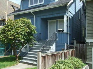 Main Photo: 2334 STEPHENS Street in Vancouver: Kitsilano House for sale (Vancouver West)  : MLS®# R2273135