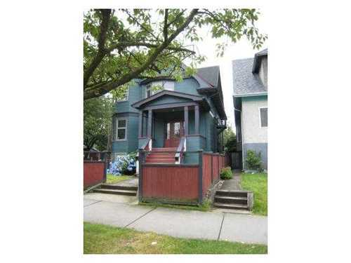Main Photo: 1876 CHARLES Street in Vancouver East: Grandview VE Home for sale ()  : MLS® # V977029