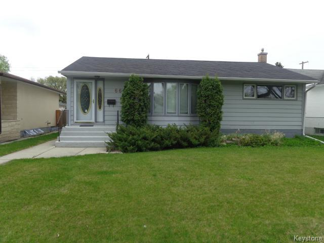 Main Photo: 660 Queenston Street in WINNIPEG: River Heights / Tuxedo / Linden Woods Residential for sale (South Winnipeg)  : MLS® # 1512736