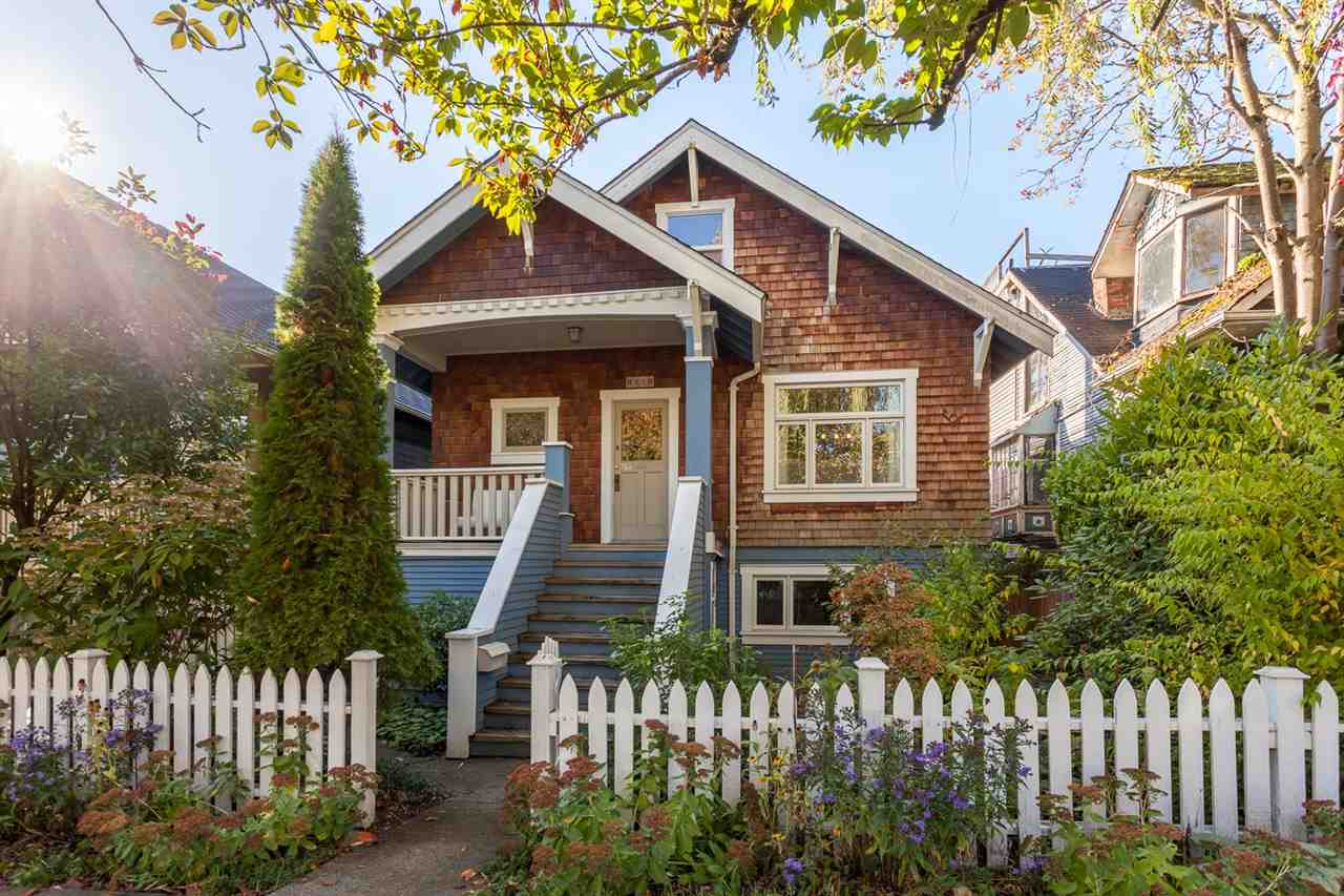 "Main Photo: 1081 ODLUM Drive in Vancouver: Grandview VE House for sale in ""COMMERCIAL DRIVE"" (Vancouver East)  : MLS®# R2214743"