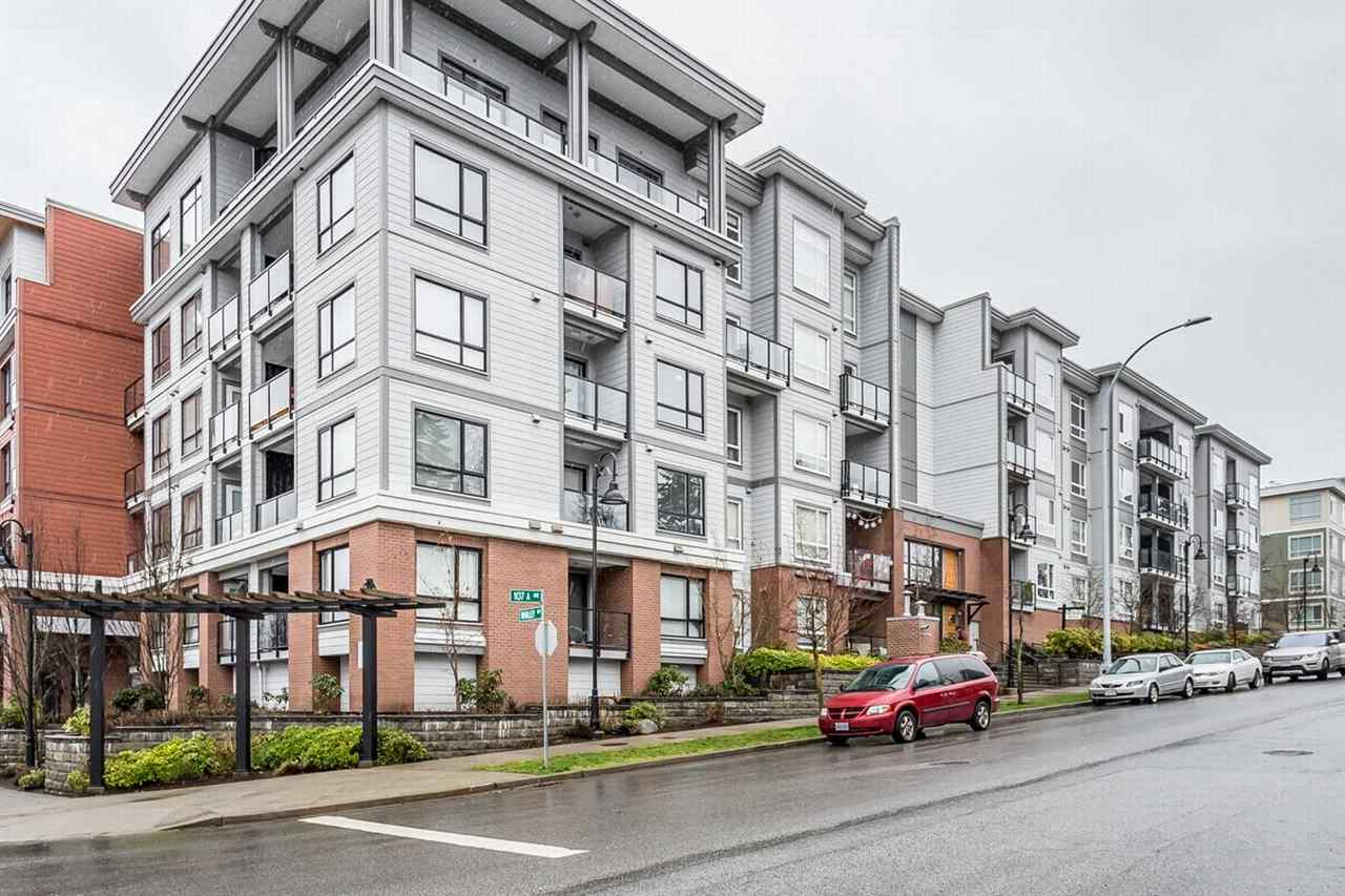 "Main Photo: 437 13733 107A Street in Surrey: Whalley Condo for sale in ""Quattro"" (North Surrey)  : MLS®# R2238147"