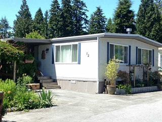 Main Photo: 12 4496 SUNSHINE COAST Highway in Sechelt: Sechelt District Manufactured Home for sale (Sunshine Coast)  : MLS® # V1130786