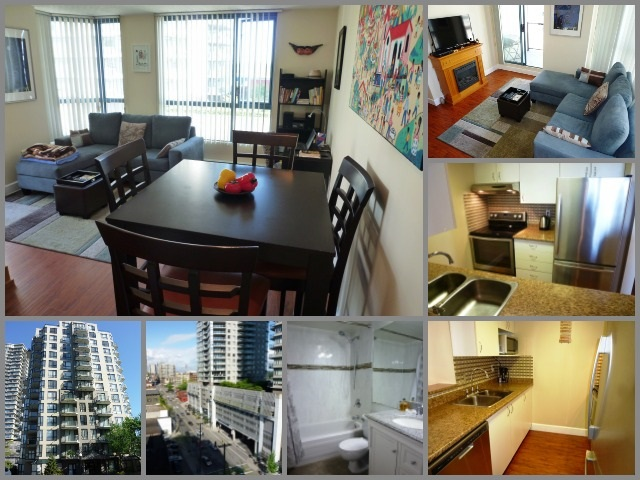 "Main Photo: 801 828 AGNES Street in New Westminster: Downtown NW Condo for sale in ""WESTMINSTER TOWERS"" : MLS®# R2065181"