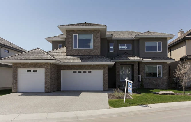 Main Photo: 4210 WESTCLIFF Court in Edmonton: Zone 56 House for sale : MLS(r) # E4026430