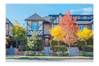 "Main Photo: 6189 OAK Street in Vancouver: South Granville Townhouse for sale in ""Carrington"" (Vancouver West)  : MLS(r) # R2119023"