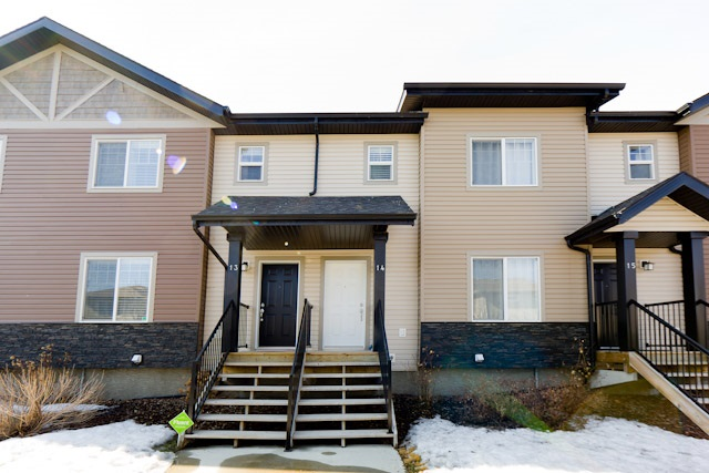 Photo 1: 14 12004 22 Avenue in Edmonton: Zone 55 Townhouse for sale : MLS(r) # E4057636
