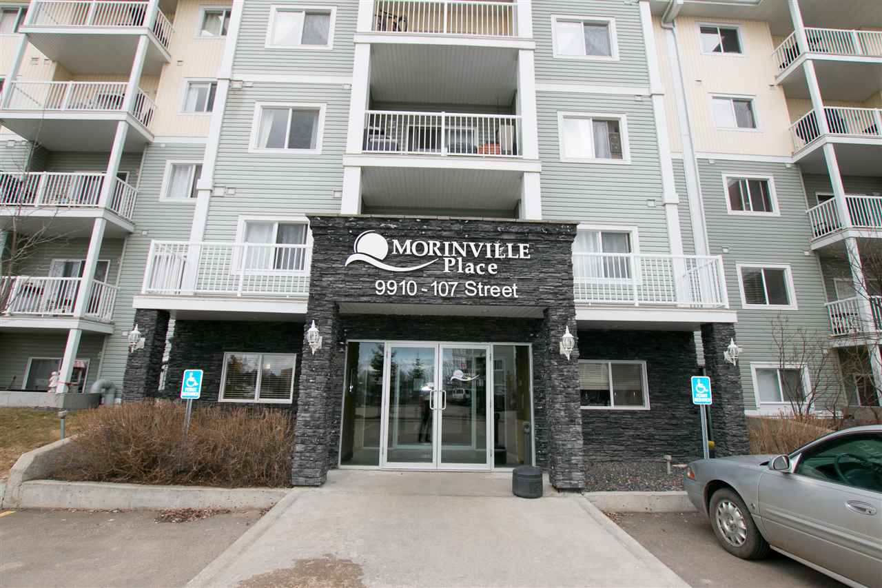 Main Photo: 525 9910 107 Street: Morinville Condo for sale : MLS® # E4062590