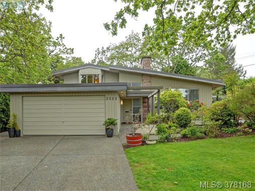 Main Photo: 3552 Kelsey Place in VICTORIA: OB Henderson Single Family Detached for sale (Oak Bay)  : MLS(r) # 378168
