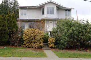 Main Photo: 421 SHILES Street in New Westminster: The Heights NW House for sale : MLS® # R2226652