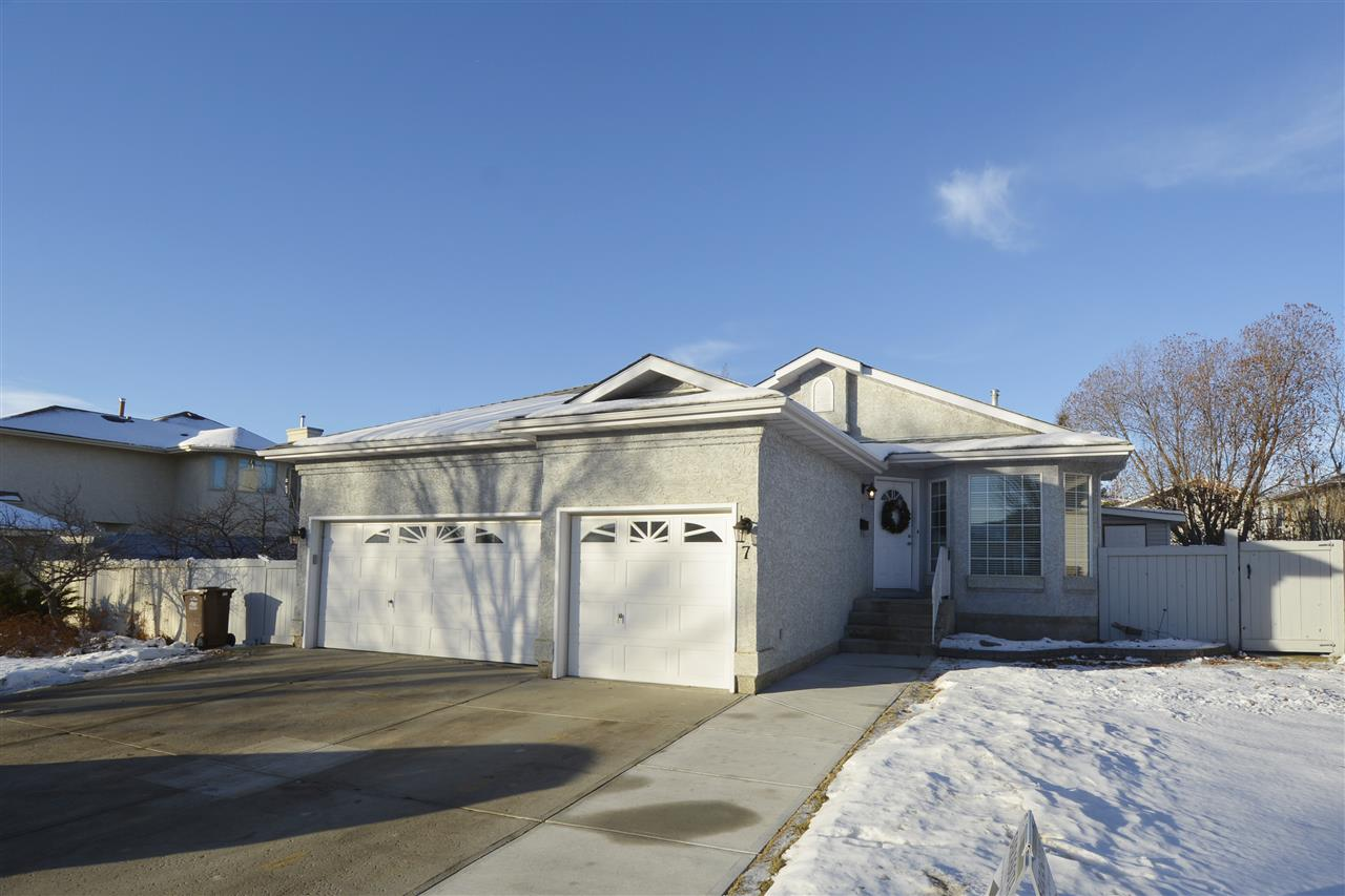 Main Photo: 7 HUDSON Road: St. Albert House for sale : MLS® # E4090320