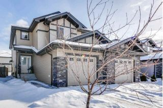 Main Photo: 16533 134 Street in Edmonton: Zone 27 House Half Duplex for sale : MLS® # E4097063