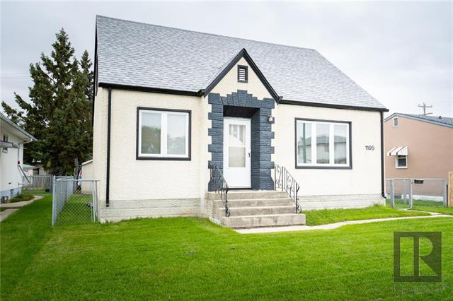 Main Photo: 1195 Mountain Avenue in Winnipeg: Sinclair Park Residential for sale (4C)  : MLS®# 1826909