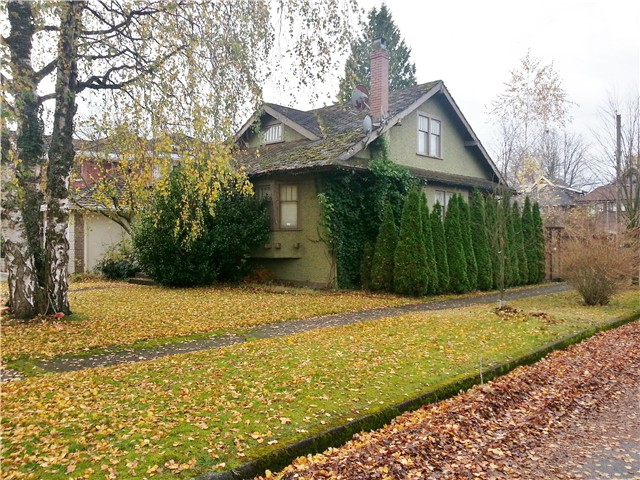 Main Photo: 6709 WILTSHIRE Street in Vancouver: South Granville House for sale (Vancouver West)  : MLS(r) # V1035369
