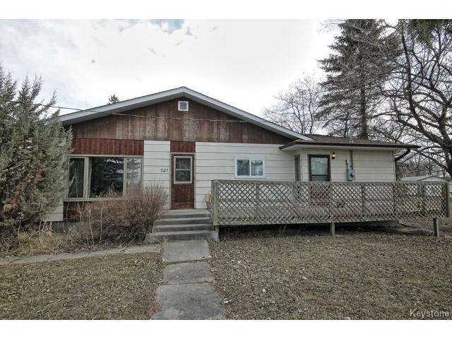 Main Photo: 527 Sabourin Street in STPIERRE: Manitoba Other Residential for sale : MLS® # 1413617