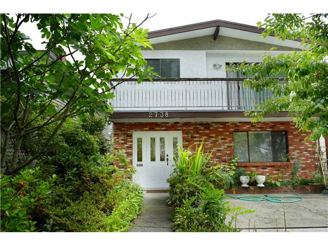 Main Photo: 2738 E 27TH Avenue in Vancouver: Renfrew Heights House for sale (Vancouver East)  : MLS® # V1133910