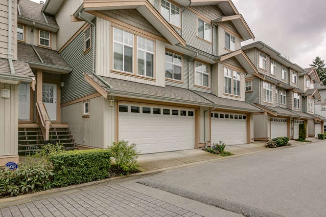 "Main Photo: 48 7518 138 Street in Surrey: East Newton Townhouse for sale in ""Greyhawk"" : MLS(r) # R2046650"