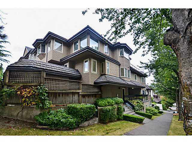 Main Photo: H 1659 BALSAM STREET in : Kitsilano Townhouse for sale : MLS® # V1023019