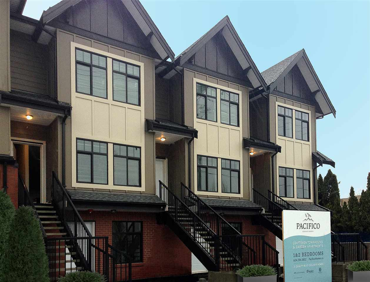 "Main Photo: 201 7180 BARNET Road in Burnaby: Westridge BN Townhouse for sale in ""PACIFICO"" (Burnaby North)  : MLS®# R2132578"