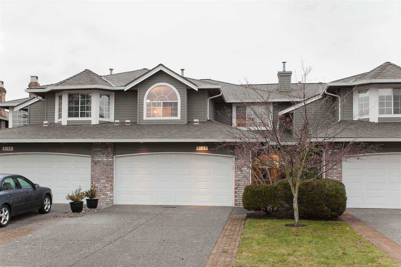 "Main Photo: 6167 W BOUNDARY Drive in Surrey: Panorama Ridge Townhouse for sale in ""LAKEWOOD GARDENS IN BOUNDARY PARK"" : MLS® # R2133410"