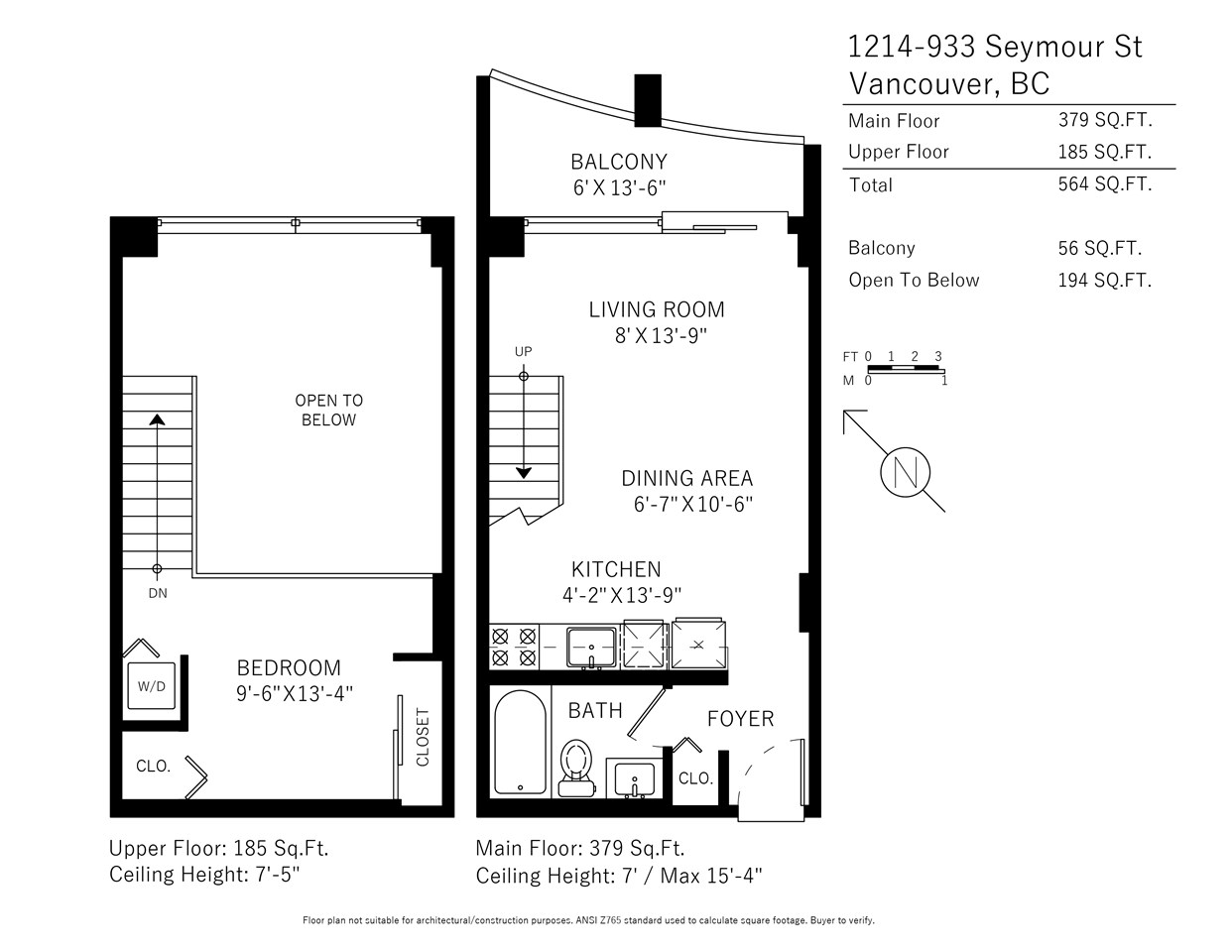 "Photo 17: 1214 933 SEYMOUR Street in Vancouver: Downtown VW Condo for sale in ""THE SPOT"" (Vancouver West)  : MLS(r) # R2137026"