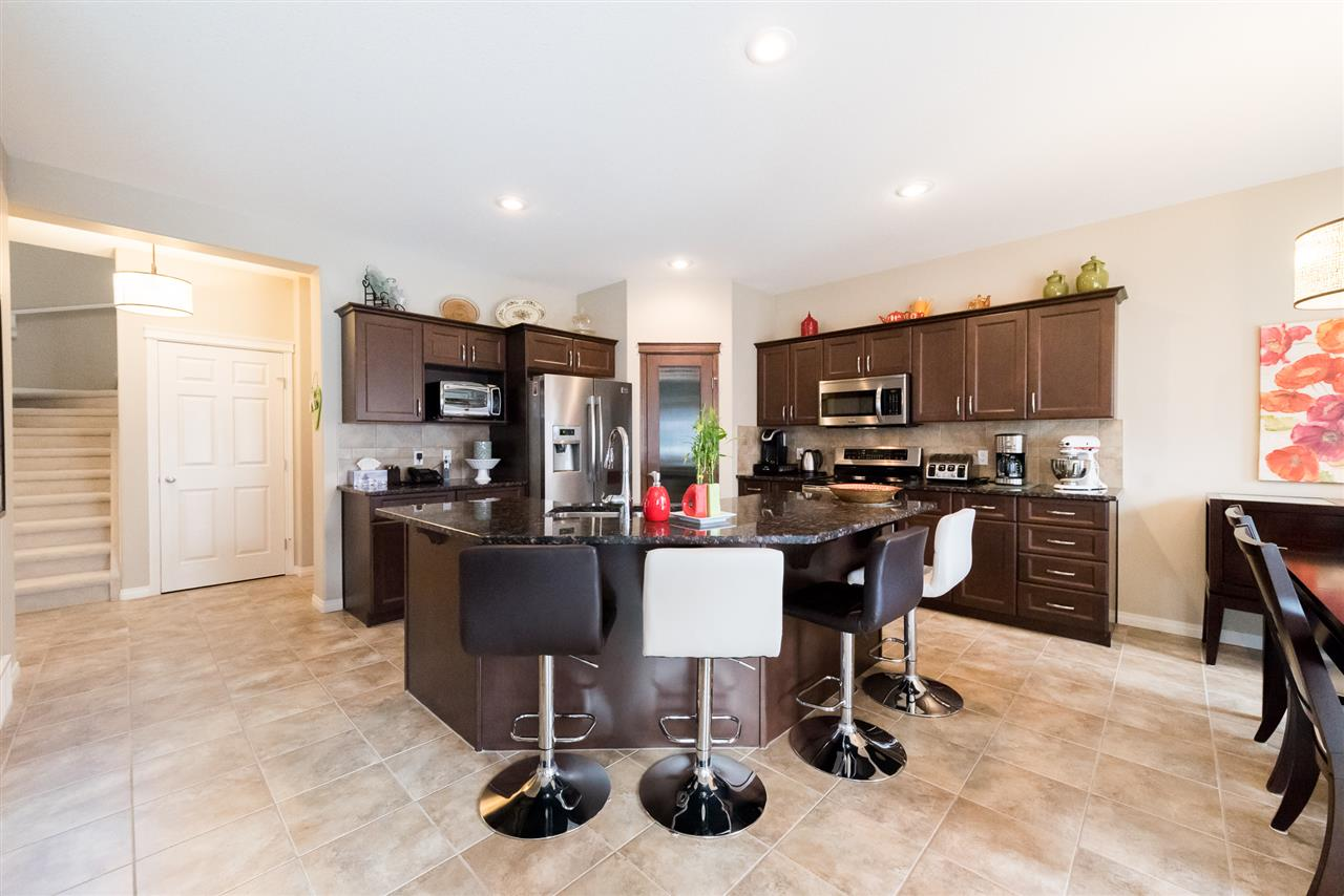 Ample space for family cooking.